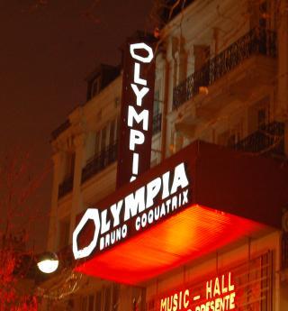 Programmation Olympia mois Octobre 2017