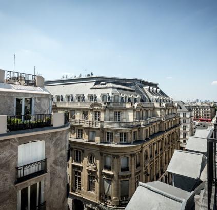 Hôtel Triangle d'Or - Toits de Paris